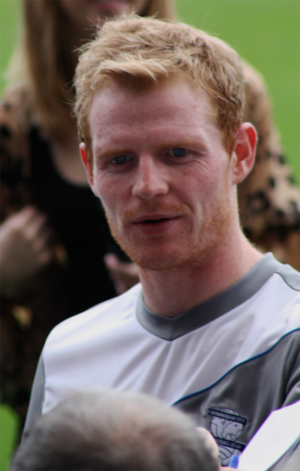 Chris Burke (footballer) - With Birmingham City in 2011 pre-season