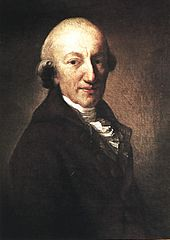 Christoph Martin Wieland; Gemälde von Anton Graff, 1794 (Quelle: Wikimedia)