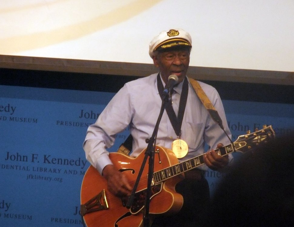 Chuck Berry in 2012