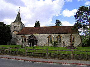 All My Hope on God is Founded - Church in Yattendon, where the translator worked who authored the Yattendon Hymnal