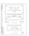 Church of the Holy Family, State Route 157, Cahokia, St. Clair County, IL HABS ILL,82-CAHO,1- (sheet 9 of 9).png