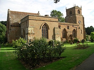 Stoneleigh, Warwickshire - The Church of the Virgin Mary in Stoneleigh, Warwickshire