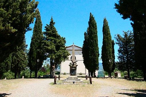 Santuario della Madonna di Val di Prata, Monticello Amiata