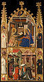 Circle of Ferrer i Arnau Bassa - Annunciation and Three Kings of the Epiphany - Google Art Project.jpg