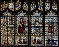 Cirencester, St John the Baptist church, window detail (45222644272).jpg