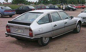 Kammback - Kamm-tailed 4-door: Citroën CX