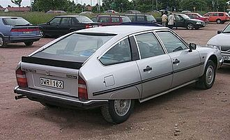 Kammback - Kamm-tailed 4-door: Citroën CX
