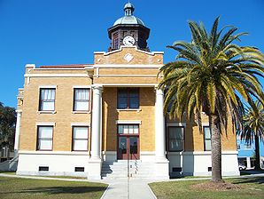 Ehem. Citrus County Courthouse in Inverness