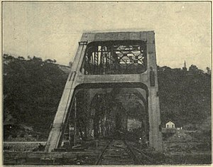 Union Railroad Clairton Bridge - The bridge some time around the early 1900s.