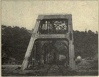 Union Railroad Clairton Bridge - The bridge some time around the early 1900s.