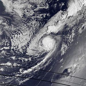 1985 Atlantic hurricane season - Image: Claudette aug 15 1985 1045Z