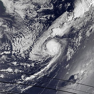 1985 Atlantic hurricane season - Image: Claudette aug 15 1985 1045Z