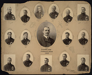 1902 Cleveland Bluebirds season - The Cleveland team in 1902