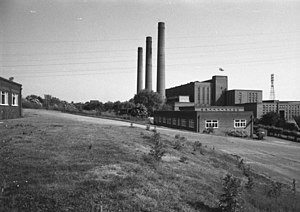Cliff Quay Power Station - Cliff Quay Power Station viewed from the north in June 1983