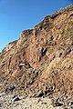 Cliff face, Thurstaston Beach (geograph 2865967).jpg