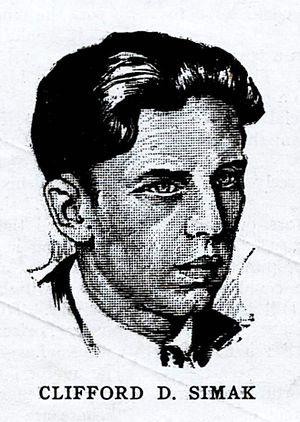 Clifford D. Simak cover