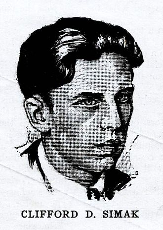 Clifford D. Simak - Simak as pictured in Wonder Stories in 1931