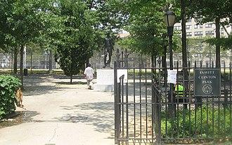 DeWitt Clinton Park - Image: Clinton park 1