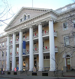 The Clinton House, a 19th century building in downtown Ithaca