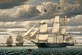 Clipper Ship Southern Cross Leaving Boston Harbor 1851.jpeg