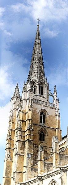 Narbonne Version 3 1: File:Clocher Notre-Dame De Bayonne.jpg
