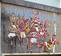 Closeup view of rugby mosaic, Pontypool - geograph.org.uk - 2393145.jpg
