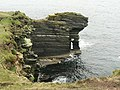 Coastal rock formation, Stronsay - geograph.org.uk - 212980.jpg