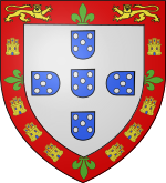 Coat of Arms of Prince Ferdinand of Aviz.svg