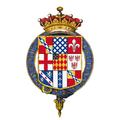 Coat of arms of Charles Sackville, 6th Earl of Dorset, KG.png