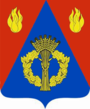 Coat of arms of Frolovsky district 2007 (official) 01.png