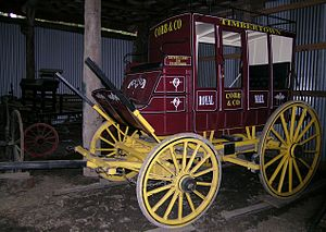 Mail coach - A preserved Cobb & Co Australian Royal Mail Coach