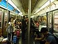 Coche R62, línea 3 del Subte de Nueva York.jpg