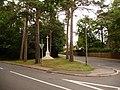 Colehill, the war memorial - geograph.org.uk - 1398786.jpg