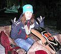 Coline Mattel 2 medals 2011 32.jpg