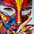 Colorful face painting, 2990357.jpg