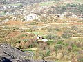 Colourful yurts below the Cook and Ddol Quarries - geograph.org.uk - 321654.jpg