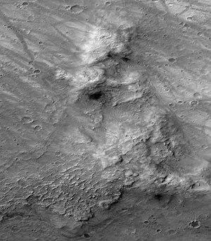 Columbia Hills (Mars) - Image: Columbia Hills Unlabelled