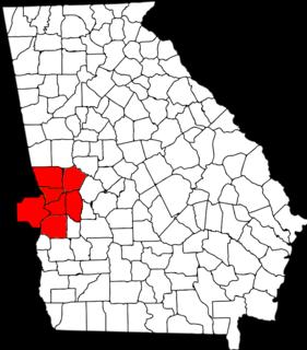 Columbus metropolitan area, Georgia human settlement in United States of America