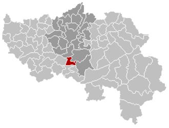 Comblain-au-Pont - Image: Comblain au Pont Liège Belgium Map