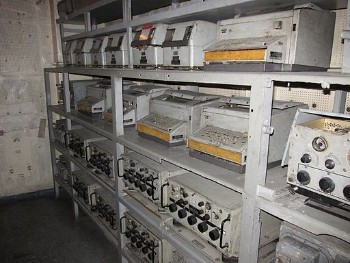 Communications Room on the USS Pueblo