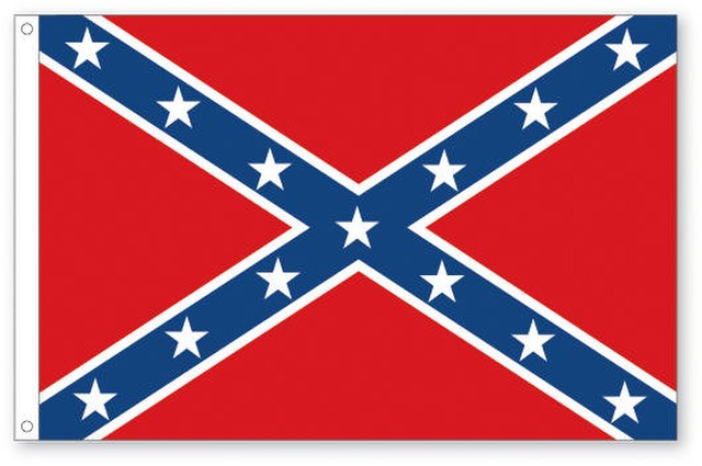 From commons.wikimedia.org: Confederate flag {MID-151475}