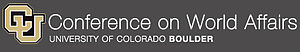 Conference on World Affairs - Image: Conference on World Affairs at CU Boulder