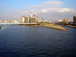 Confluence of the River kannzaki and River ai.JPG
