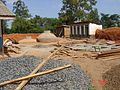 Construction of biogas digester and anaerobic baffled reactor (5323737199).jpg