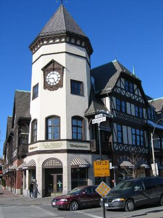 Coolidge Corner - The S.S. Pierce Building