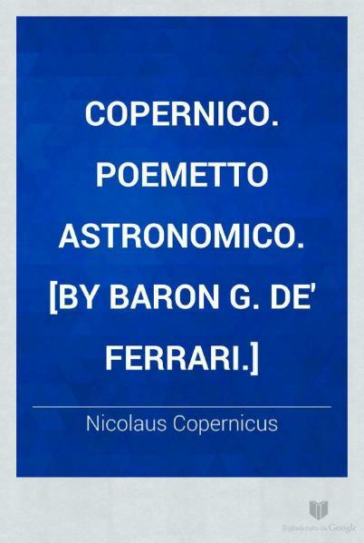 File:Copernico - Poemetto Astronomico.djvu