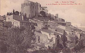 Corbère - Corbère-d'en-Haut in the early 20th century