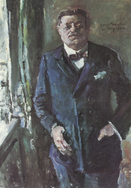 Friedrich Ebert, president 1919-1925, painted by Lovis Corinth in 1924. Corinth Ebert.png