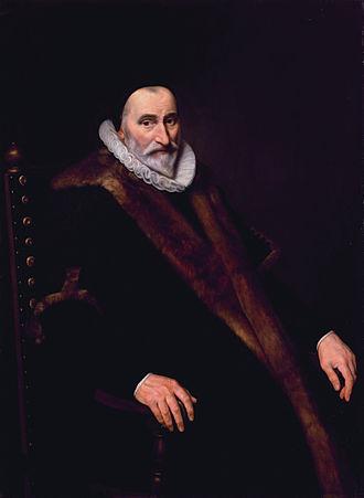 Cornelis Hooft - Cornelis Pietersz Hooft (1546-1626). (Cornelis van der Voort)