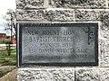 Cornerstone, New Mount Zion Baptist Church, 817 N. Mount Street, Baltimore, MD 21217 (40658172705).jpg